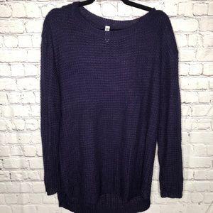 Purple Zenana Sweater